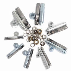 Tools & Dies for Fitting & Fixing Eyelets